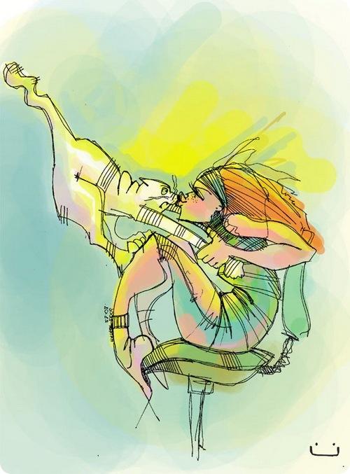 Иллюстрации Натальи Шалошвили