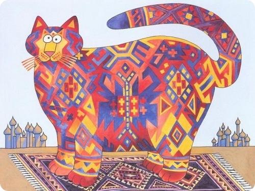 Забавные рисунки кошек от j k kliban… под