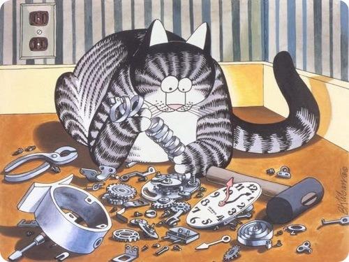 Кошки J.K.Kliban