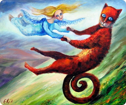 Коты и ангелы Иерусалима