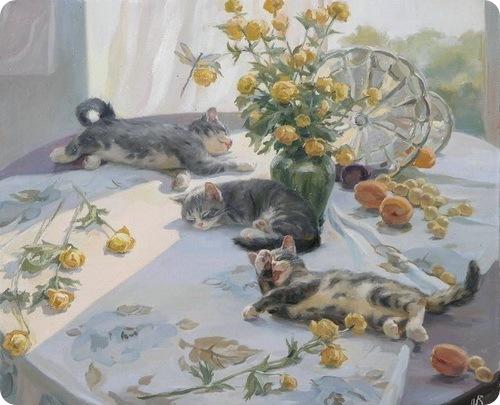 Кошки Сергея Новосаджука