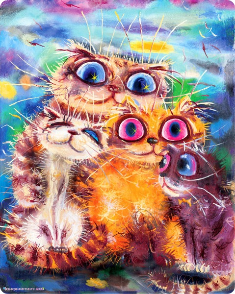 Кошки Бориса Касьянова - День семьи