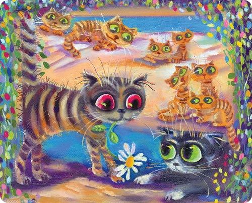 Кошки Бориса Касьянова - 8 марта, что ли?