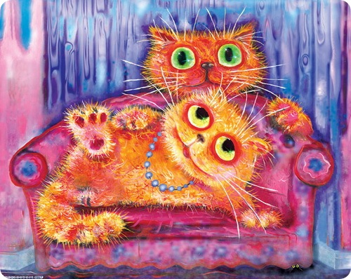 Кошки Бориса Касьянова - Желанная гостья