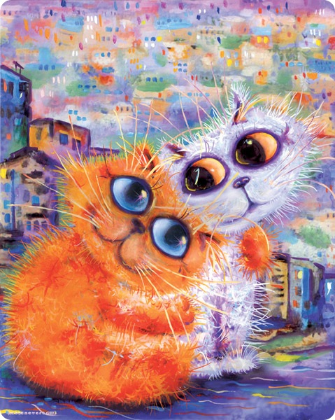 Кошки Бориса Касьянова - Обнимушки