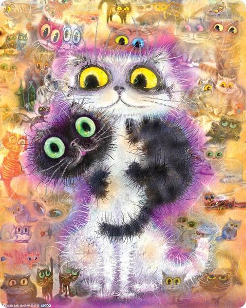Кошки Бориса Касьянова - Среди друзей