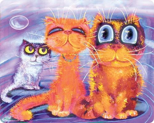 Кошки Бориса Касьянова - Семейный портрет