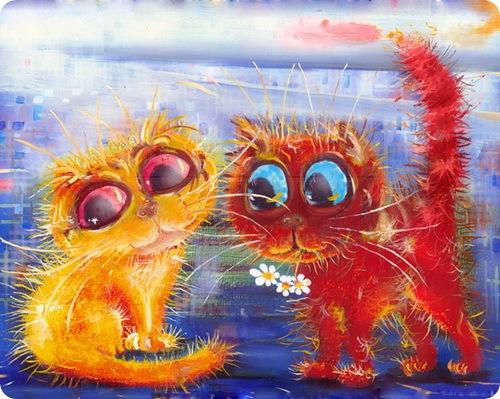 Кошки Бориса Касьянова - Встреча