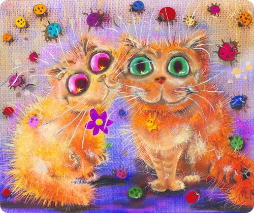 Кошки Бориса Касьянова - Сладкая парочка