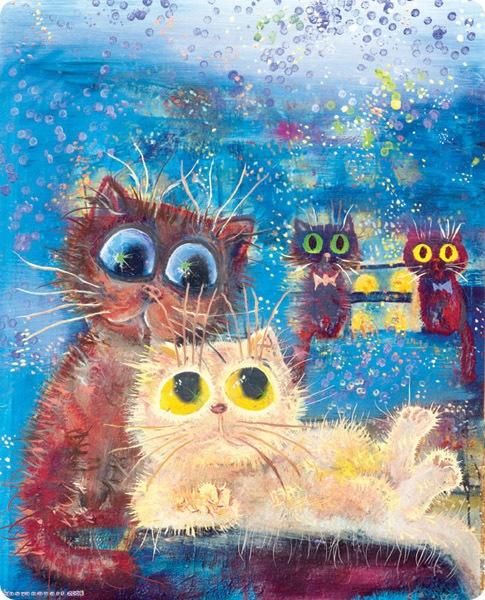 Кошки Бориса Касьянова - Моя семья