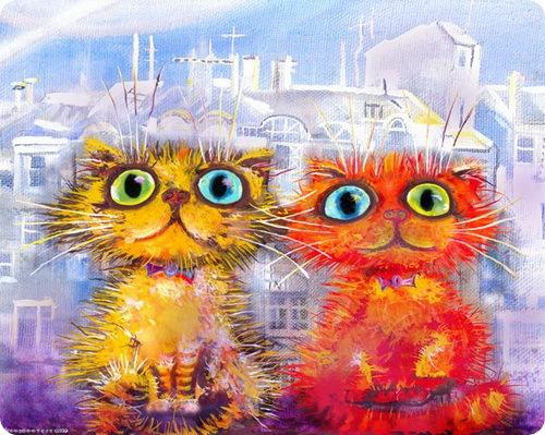 Кошки Бориса Касьянова - Двое в городе