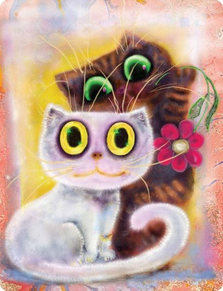 Кошки Бориса Касьянова - Гламурненькая картина