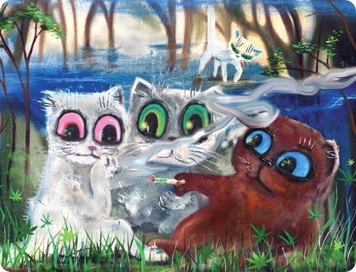 Кошки Бориса Касьянова - Завтрак на траве