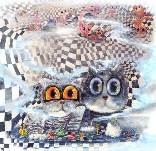 Кошки Бориса Касьянова - Главные фигуры кошачьих шахмат