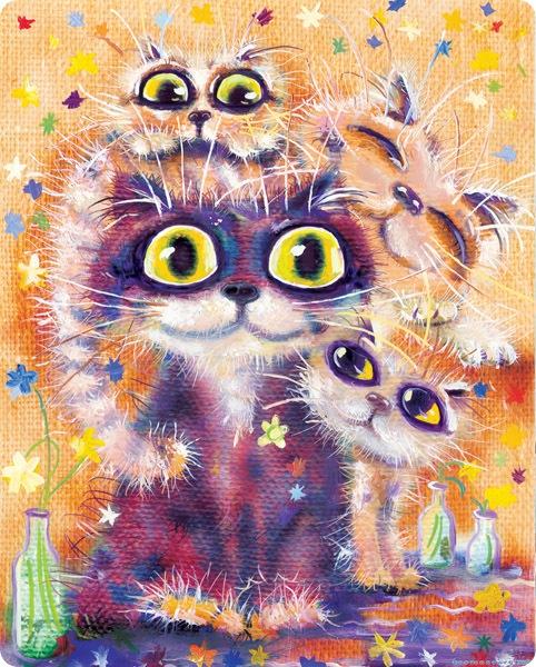 Кошки Бориса Касьянова - Семейный ужин