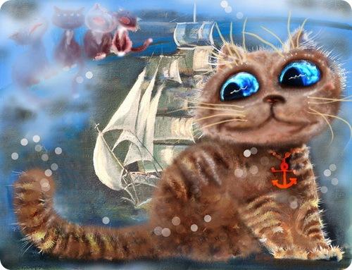 Кошки Бориса Касьянова - Морские песни