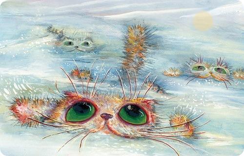 Кошки Бориса Касьянова - Покорители снежных просторов