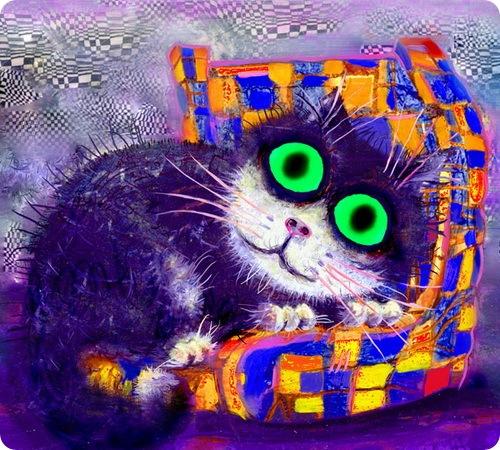 Кошки Бориса Касьянова - В любимом кресле