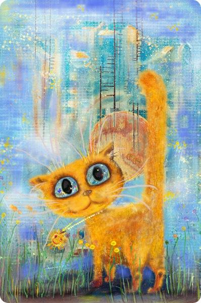 Кошки Бориса Касьянова - Солнечный котенок