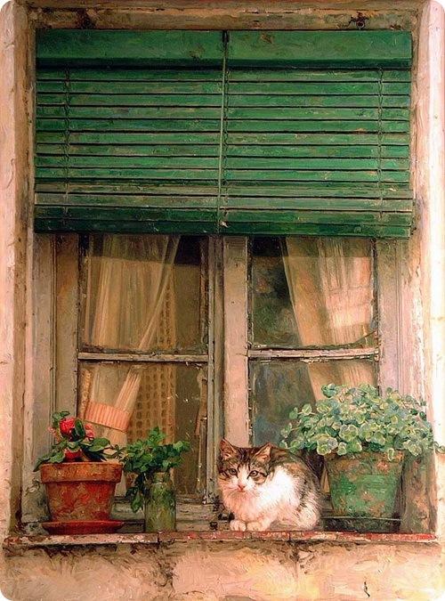 Кошки Антонио Капел (Antonio Capel)