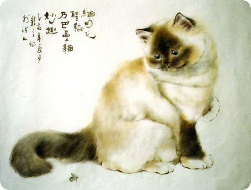 Кошки Гу Йингжи (gu yingzhi)