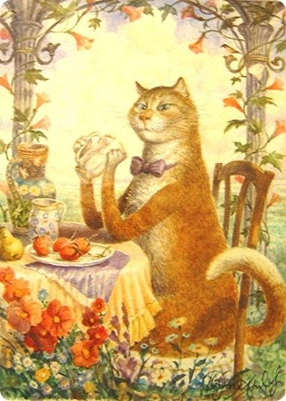 Кошки Владимира Румянцева