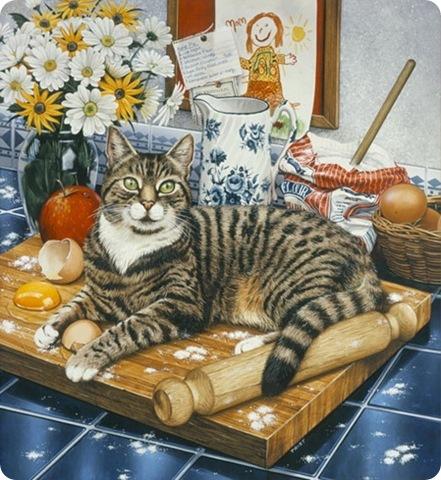 Кошки Geoffrey Tristram