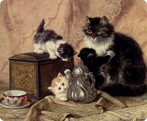 Кошки Henriette Ronner-Knip