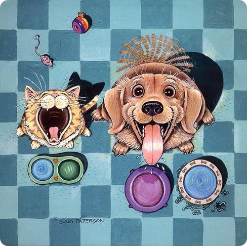 Кошки и Собаки от Гари Патерсона