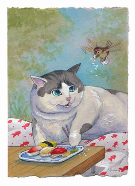Кошки Blue Birdie
