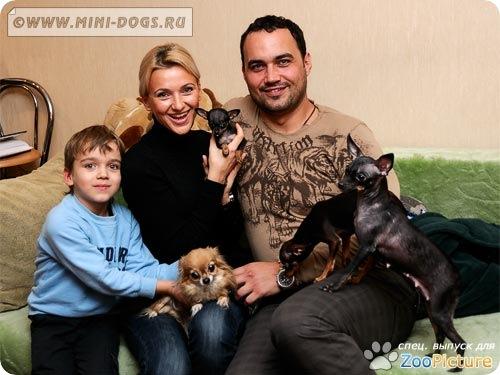 В гостях у маленьких собак питомника Mini-Dogs