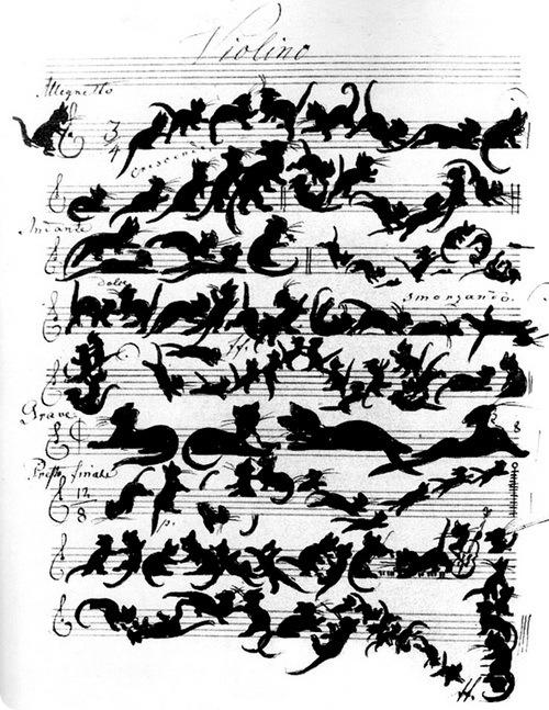 Партитура Кошачьей симфонии