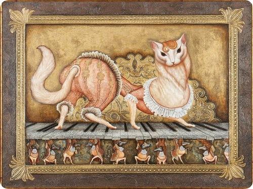 Кошки Сергея Кустарева
