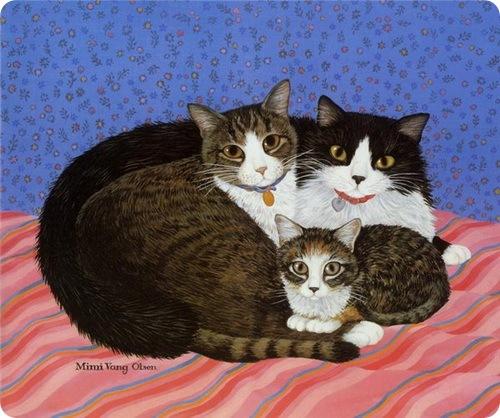 Кошки Mimi Vang Olsen