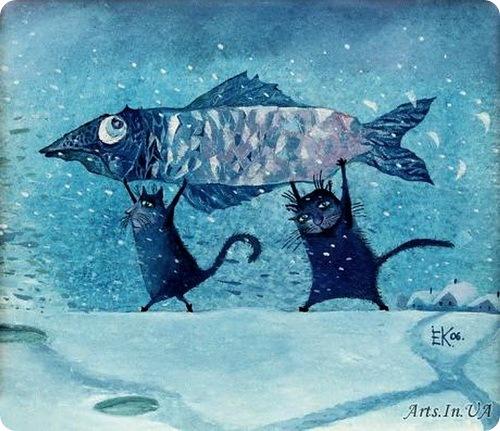 Кошки Елены Коваль