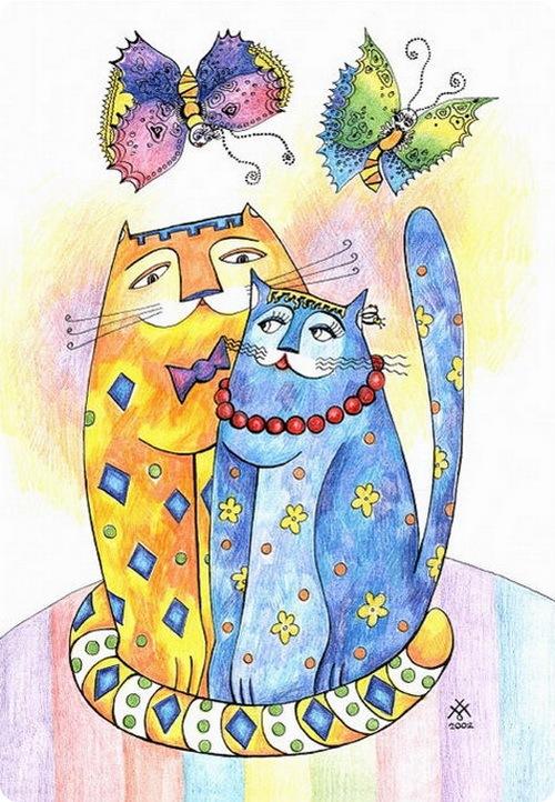 Кошки Натальи Бронниковой