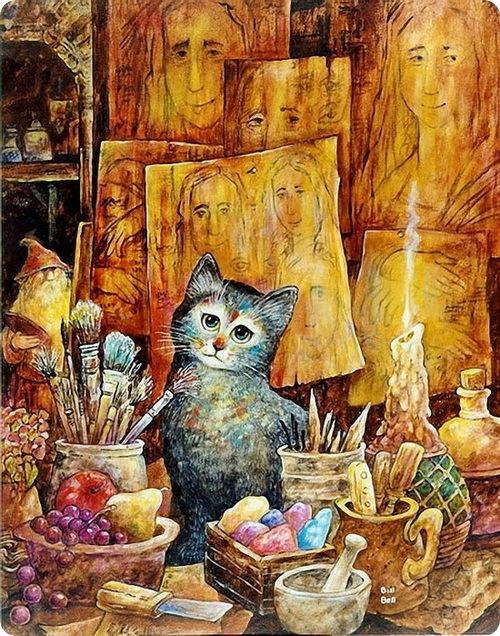 Кошки от Bill Bell