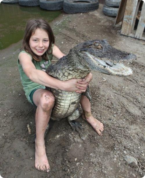 Укротительница аллигаторов