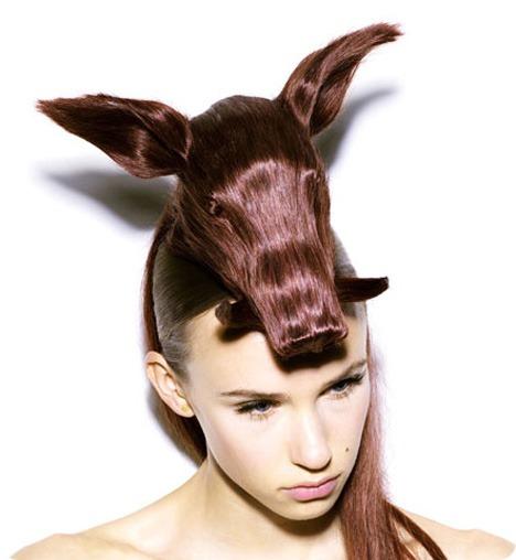 Животные причёски