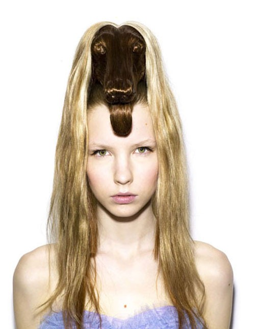 Животные причёски Наги Нода