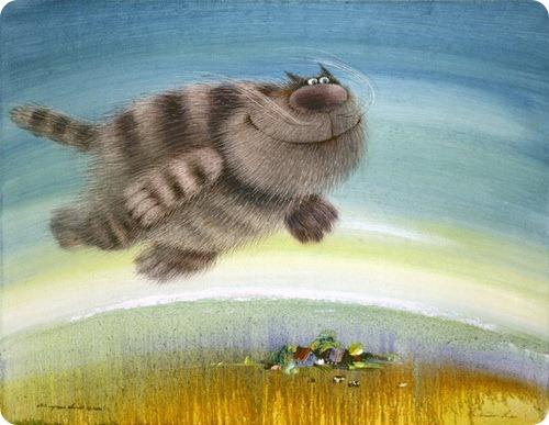 Анти-депрессивные коты Валерия Хлебникова