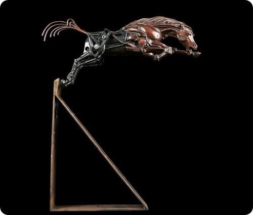 Стимпанк - животные Пьера Маттера