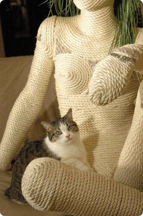 Табби - Моднейшая когтедралка для вашей кошки