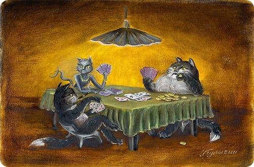 Кошки Николая Кулыгина