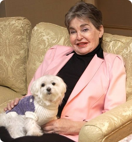 Умерла самая богатая в мире собака