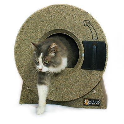 Туалет для кошек Little Spinner