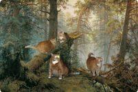 Заратустра — Котэ в шедеврах мировой живописи