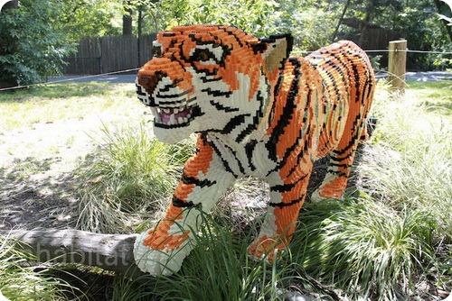 LEGO-животные поселились в зоопарке Бронкса