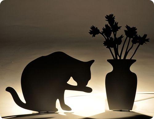 Черные лампы «Мистер Мяу»