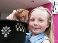 Лондонские полицейские спасли хомячка